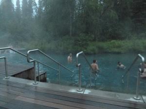 Wonderful soothing Liard Hot Springs
