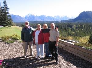 Grandpa Bater, Grandma Bater, Hana and I